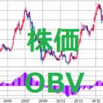株価 OBV