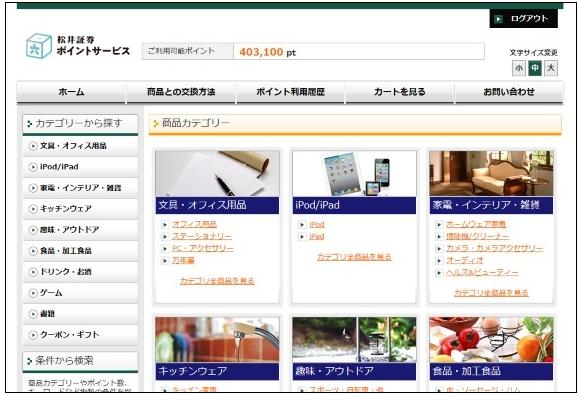 松井証券 商品
