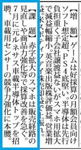 四季報 材料記事欄の見方・読み方