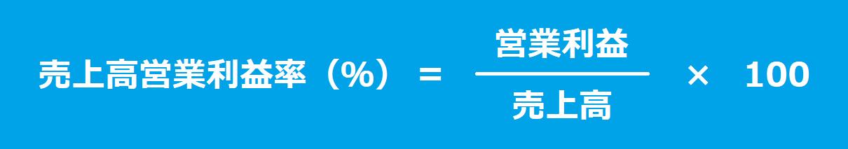 売上高営業利益率(%)
