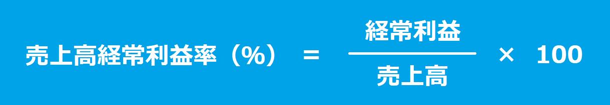 売上高経常利益率(%)