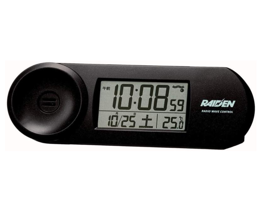 セイコークロック 置き時計 電波 デジタル 大音量 PYXIS