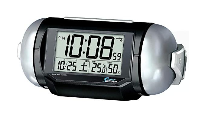 セイコークロック 置き時計 電波 デジタル 大音量