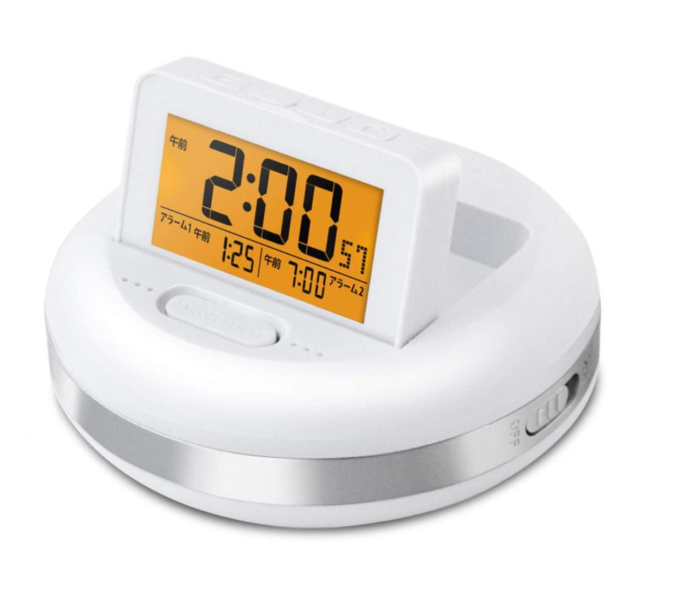目覚まし時計 振動式 バイブレーション デジタル 振動アラームクロック ブルブル・クラッシュ